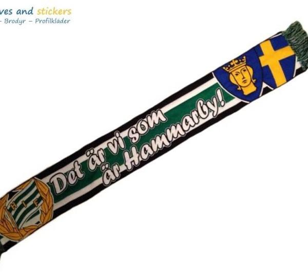 Vävd HD halsduk Hammarby