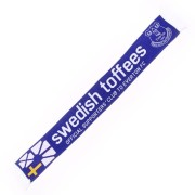 Swedish Toffees dubbelstickad halsduk